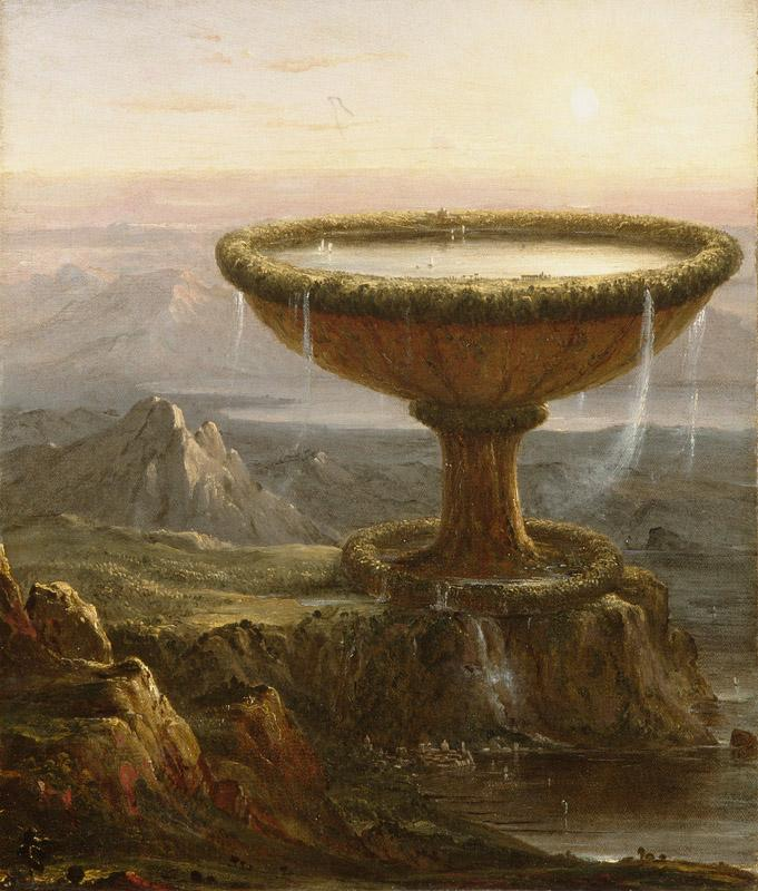 Thomas Cole The Giant's Chalice (mk09) oil painting image