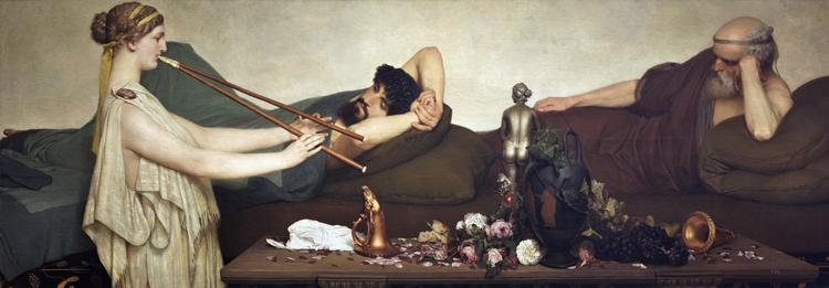 Alma-Tadema, Sir Lawrence The Siesta (mk23) oil painting image