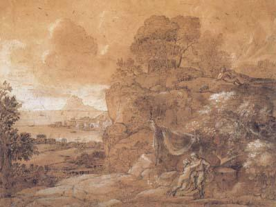 Claude Lorrain Acis and Galatea (mk17) oil painting image