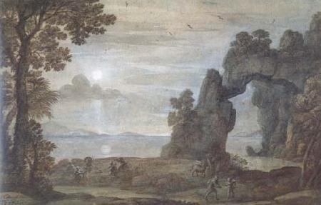 Claude Lorrain Perseus and the Origin of Coral (mk17) oil painting image