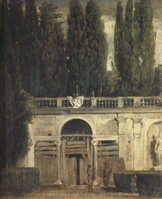 Diego Velazquez Villa Medici in Rome (Facade of the Grotto-Logia) (df01) oil painting image