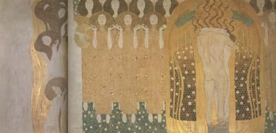 Gustav Klimt Beethoven Frieze (mk20) oil painting image