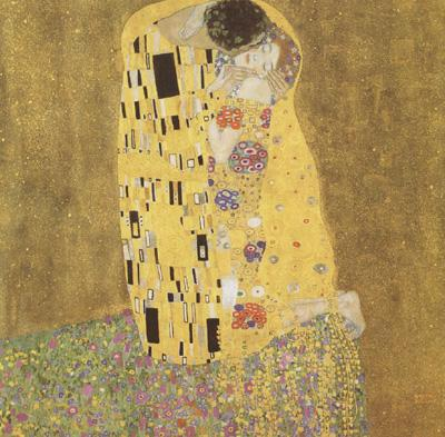 Gustav Klimt The Kiss (mk12) oil painting image