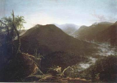 Thomas Cole Sunrise in the Catskill Mountains (mk13) oil painting image