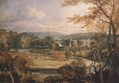 Joseph Mallord William Turner Bolton Abbey,Yorkshire (mk31) oil painting image