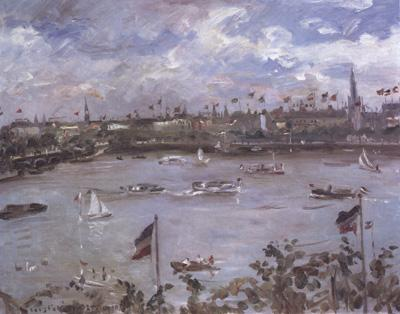 Lovis Corinth Emperor's Day in Hamburg (nn02) oil painting image