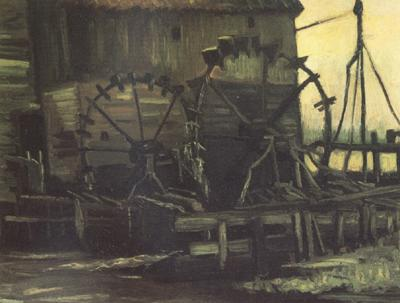 Vincent Van Gogh Water Mill at Gennep (nn04) oil painting image