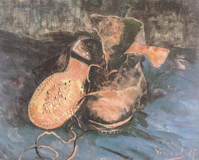 Vincent Van Gogh A Pair of Shoes (nn04) oil painting image