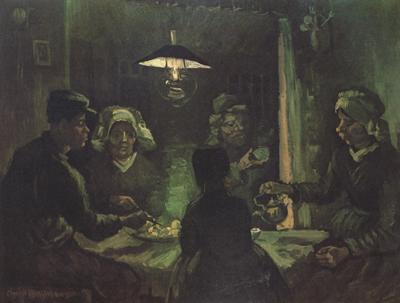 Vincent Van Gogh The Potato eaters (nn04) oil painting image