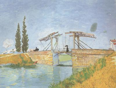 Vincent Van Gogh The Langlois Bridge at Arles (nn04) oil painting image