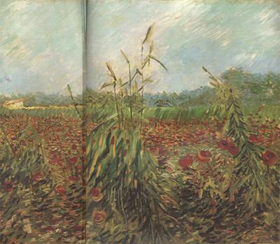 Vincent Van Gogh Green Ears of Wheat (nn04) oil painting image