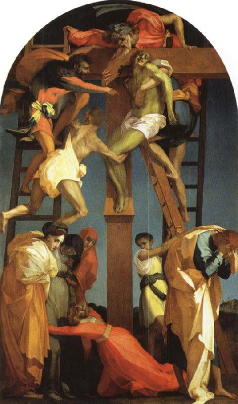 Rosso Fiorentino Deposition oil painting image